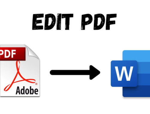 Did you know you can edit a PDF in Microsoft Word?
